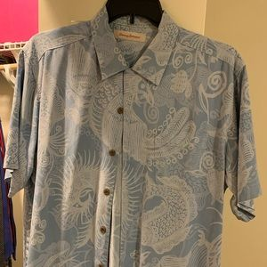 Tommy Bahama Hawaiian Shirt (Large)